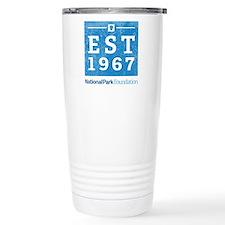 Npf Est.1967 Washed Stainless Steel Travel Mug