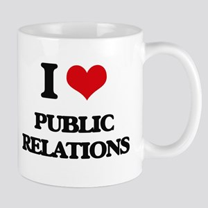 I Love Public Relations Mugs