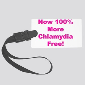 Free Chlamydia Large Luggage Tag