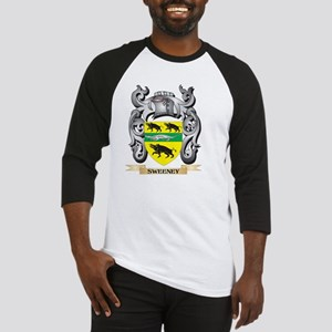 Sweeney Coat of Arms - Family Cres Baseball Jersey