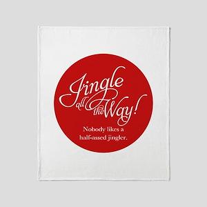 Jingle All the Way Throw Blanket