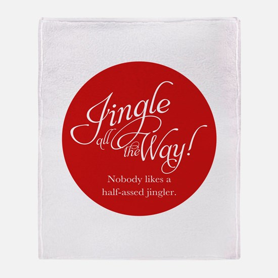 Jingle All the Way Throw Blanket
