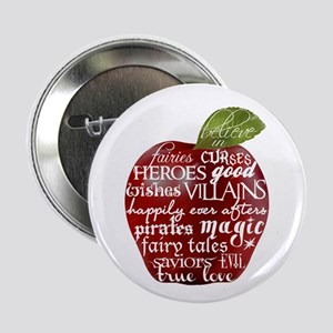 """Believe In - Apple 2.25"""" Button (10 pack)"""
