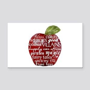 Believe In - Apple Rectangle Car Magnet