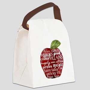 Believe In - Apple Canvas Lunch Bag