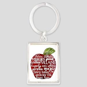 Believe In - Apple Portrait Keychain