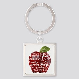 Believe In - Apple Square Keychain