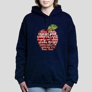 Believe In - Apple Women's Hooded Sweatshirt
