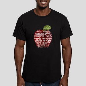 Believe In - Apple Men's Fitted T-Shirt (dark)