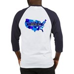 True Blue United States LIBERAL -- Baseball Jersey