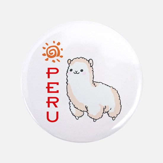 "ALPACA PERU 3.5"" Button"