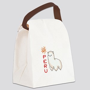 ALPACA PERU Canvas Lunch Bag