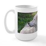 White Wolf Large Mug