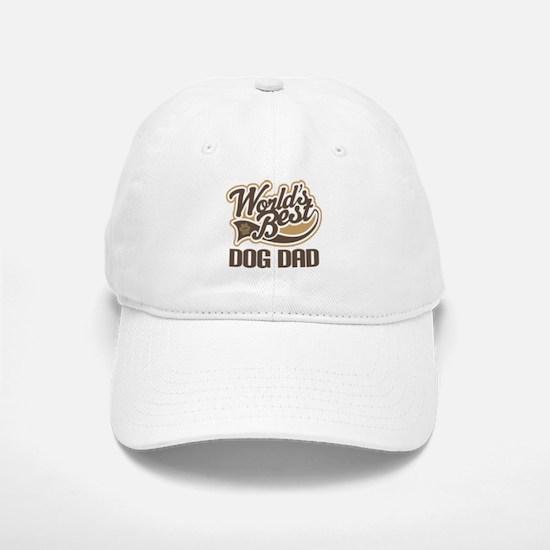 Worlds Best Dog Dad Baseball Baseball Cap