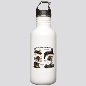 Otters of the World Stainless Water Bottle 1.0L