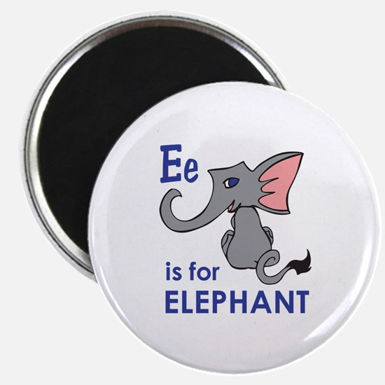 E IS FOR ELEPHANT Magnets