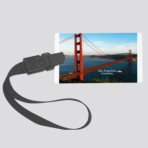 San Francisco Large Luggage Tag