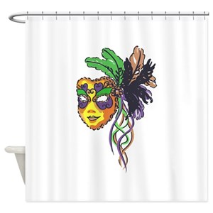 Mardi Gras Shower Curtains