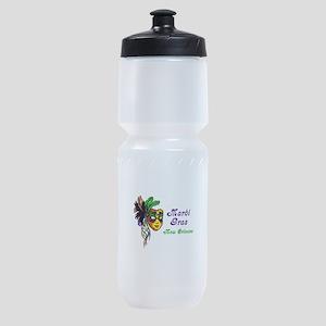 MARDI GRAS NEW ORLEANS Sports Bottle