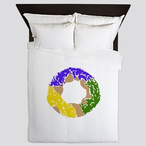 SMALL KING CAKE Queen Duvet