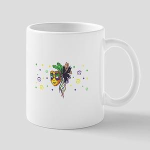 MARDI GRAS FULL BACK Mugs