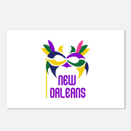 NEW ORLEANS Postcards (Package of 8)
