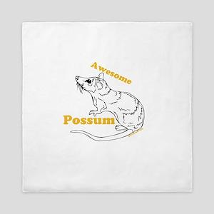 Awesome Possum Queen Duvet