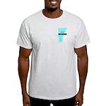 True Blue Vermont LIBERAL - Ash Grey T-Shirt