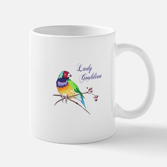 LADY GOULDIAN FINCH Mugs