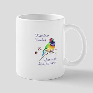 RAINBOW FINCHES Mugs