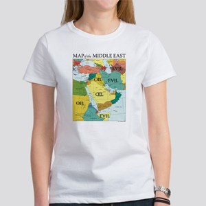 middle east map T-Shirt