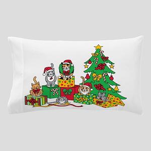 Christmas Cats Pillow Case