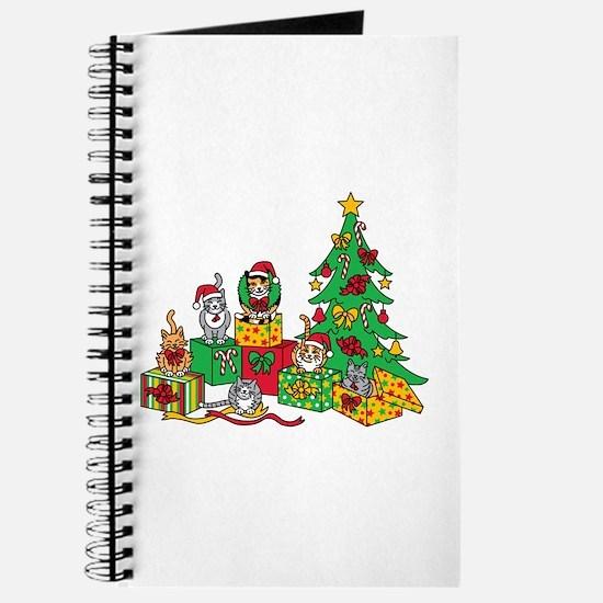 Christmas Cats Journal