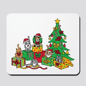 Christmas Cats Mousepad