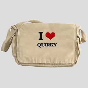 I Love Quirky Messenger Bag
