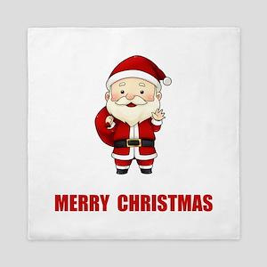 Merry Christmas Santa Claus Queen Duvet