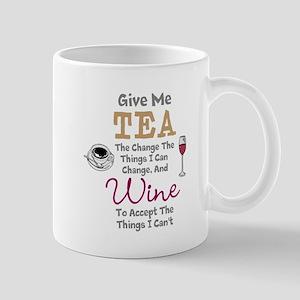 Tea and Wine Mugs