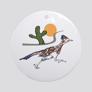 ROADRUNNER SCENE Ornament (Round)