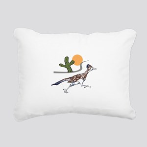 ROADRUNNER SCENE Rectangular Canvas Pillow