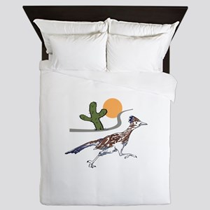 ROADRUNNER SCENE Queen Duvet