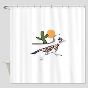 ROADRUNNER SCENE Shower Curtain