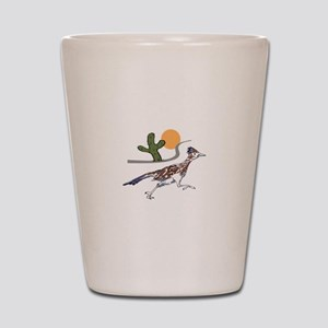 ROADRUNNER SCENE Shot Glass