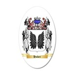 Huber 20x12 Oval Wall Decal