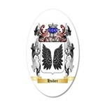 Huber 35x21 Oval Wall Decal