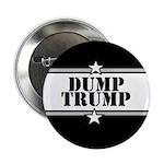 "Dump Trump - 2.25"" Button (10 Pack)"