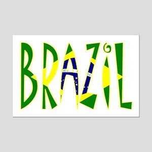 Brazil Mini Poster Print
