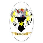 Hubbardine Sticker (Oval 50 pk)