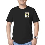 Hubbard Men's Fitted T-Shirt (dark)
