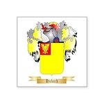 Hubach Square Sticker 3