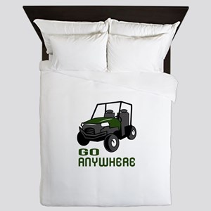 GO ANYWHERE Queen Duvet